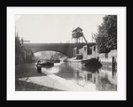 Limehouse Cut looking south from Commercial Road, Stepney, London by