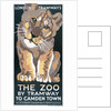 The Zoo by Tramway to Camden Town, London County Council (LCC) Tramways poster by