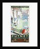 Putney, for River and Heath, London County Council (LCC) Tramways poster by RF Fordred