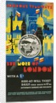 See More of London with a Shilling, London County Council (LCC) Tramways poster by