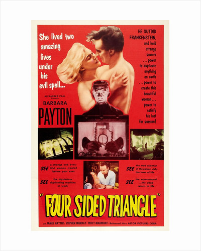 Four Sided Triangle (US One-Sheet) by Anonymous