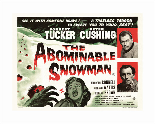 The Abominable Snowman by Anonymous