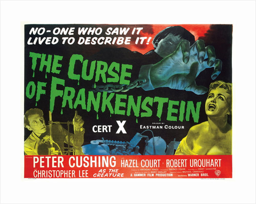 The Curse Of Frankenstein by Anonymous