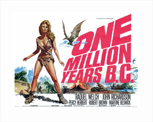 One Million Years B.C. by Tom Chantrell