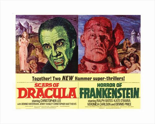 Scars of Dracula/Horror of Frankenstein by Mike Vaughan