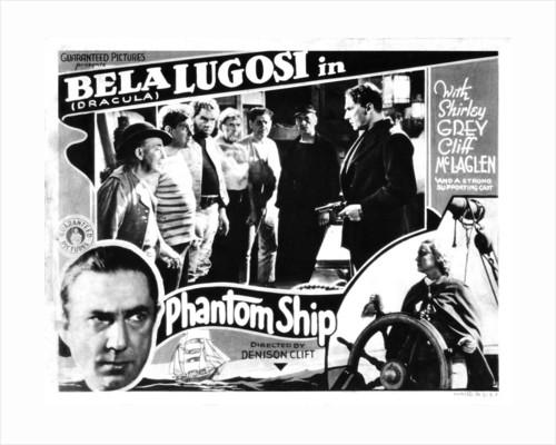 Phantom Ship / Mystery of the Mary Celeste (US lobby card) by Anonymous