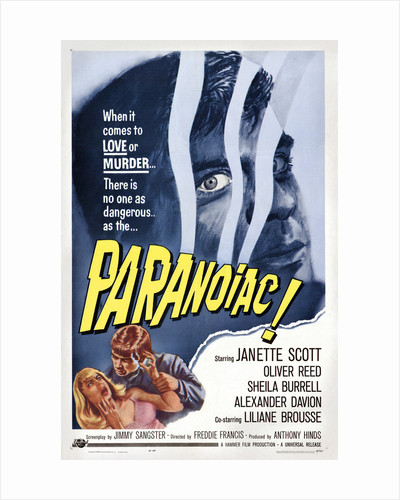 Paranoiac by Anonymous