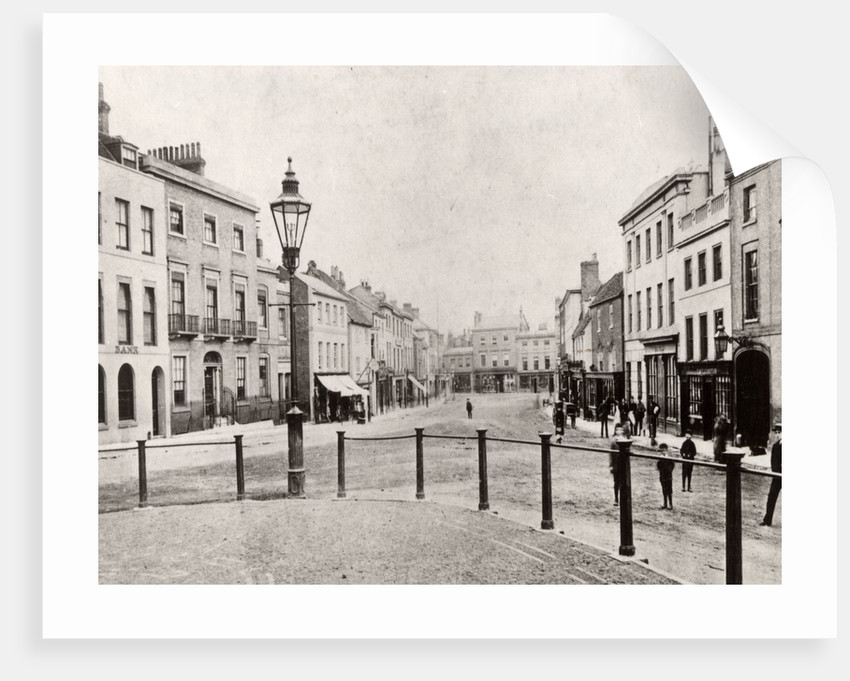 High Street, Andover, Hampshire by Anonymous