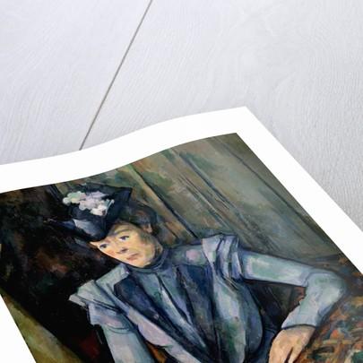 Lady in Blue (Madame Cézanne) by Paul Cezanne