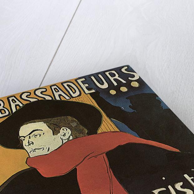 Bruant in Ambassadeurs by Henri de Toulouse-Lautrec