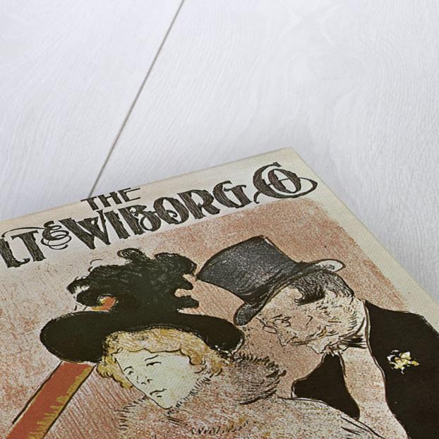Au concert by Henri de Toulouse-Lautrec