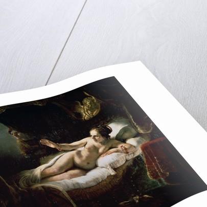 Danae by Rembrandt (Rembrandt van Rijn)