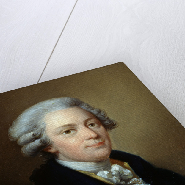 Portrait of the composer Wolfgang Amadeus Mozart by Jozef Grassi