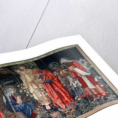 The Adoration of the Magi', tapestry by Morris & Co