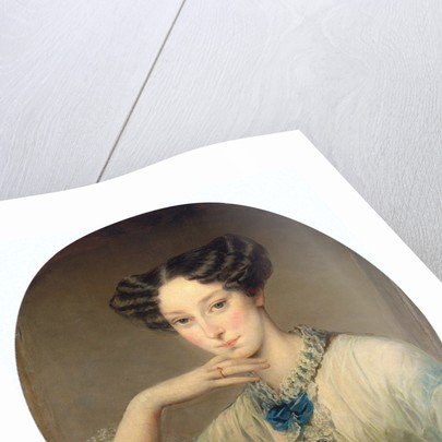 Portrait of Grand Duchess Maria Alexandrovna, c1850 by Anonymous