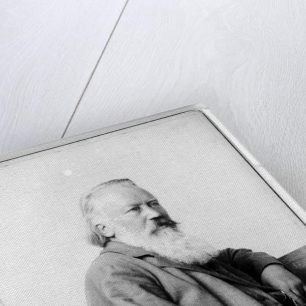 Portrait of Johannes Brahms by Anonymous