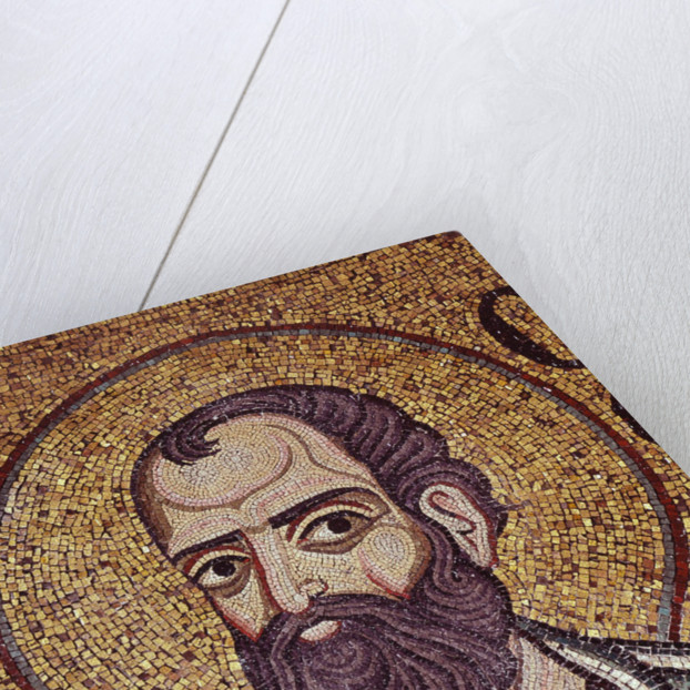 The Prophet Malachi (Detail of Interior Mosaics in the St. Marks Basilica), 12th century by Byzantine Master