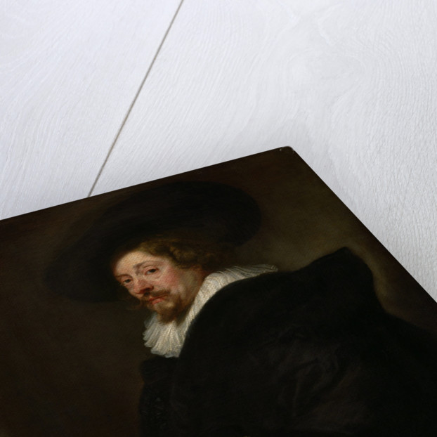 Self-portrait, ca 1638 by Pieter Paul Rubens