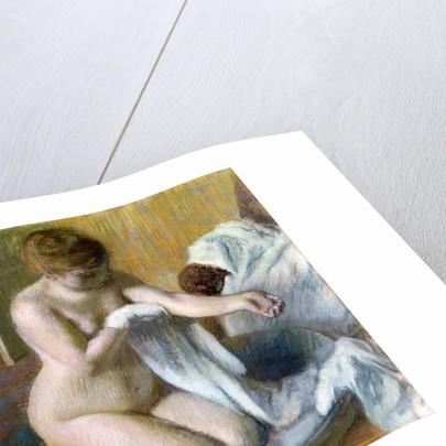 Femme au tub by Edgar Degas