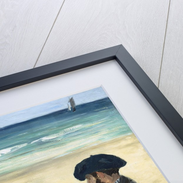 On the Beach by Edouard Manet