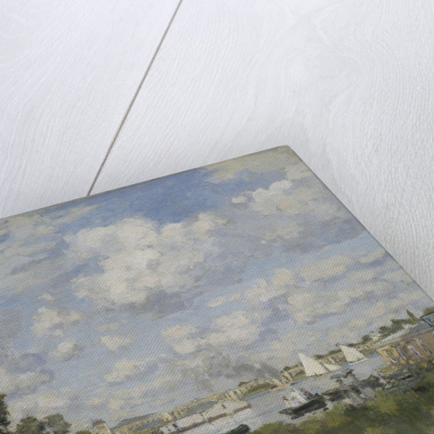 Le bassin dArgenteuil, 1872 by Claude Monet