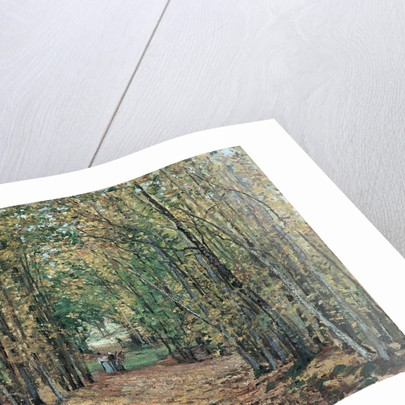 The Woods at Marly by Camille Pissarro