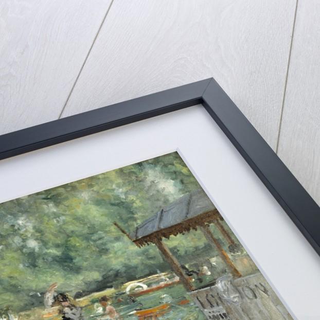 La Grenouillère, 1869 by Pierre Auguste Renoir