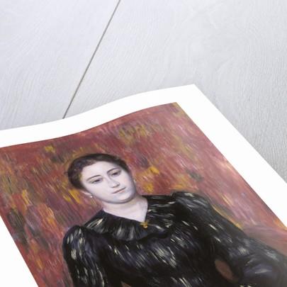 Portrait of Mme. Paulin, 1885-1890? by Pierre Auguste Renoir