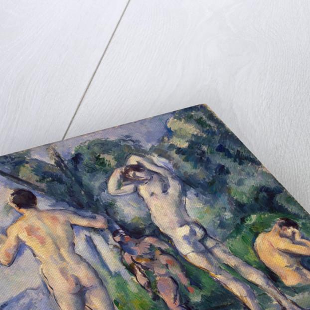 Bathers, c. 1890 by Paul Cézanne