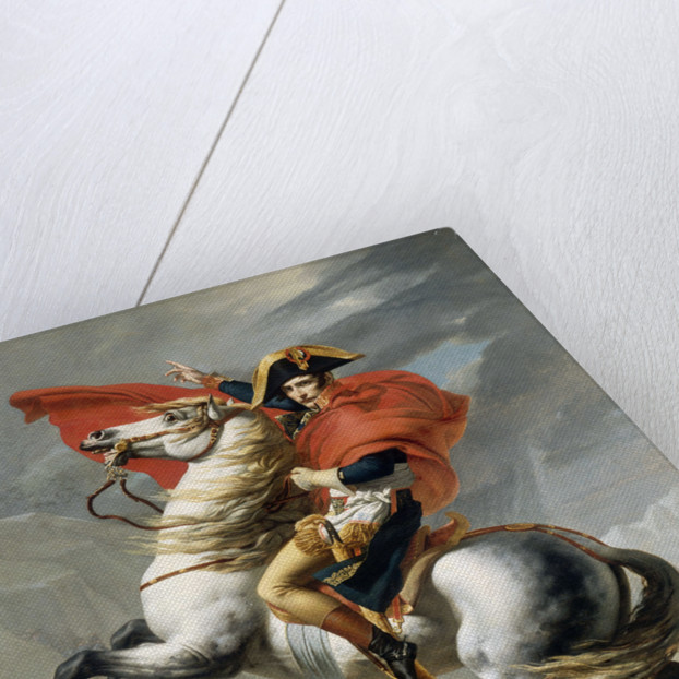 Bonaparte Crossing the Grand Saint-Bernard Pass, 20 May 1800 by Jacques Louis David
