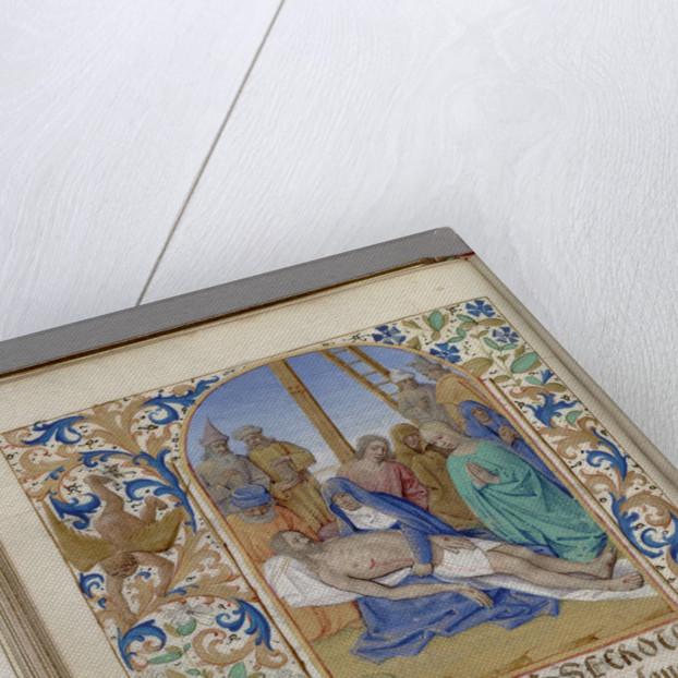 Pietà (Book of Hours), 1450-1499 by Jean Fouquet