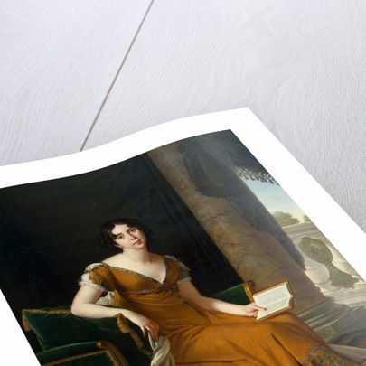 Portrait of Yelizaveta Demidova, Between 1800 and 1805 by Robert Lefévre