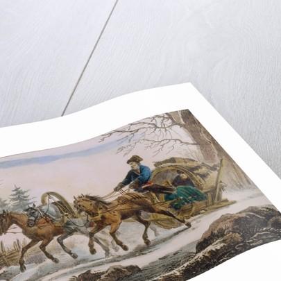 Kibitka, 1820 by Eugéne Pluchart