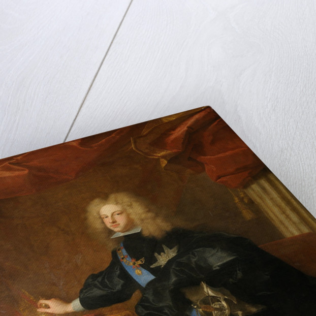 Philip V, King of Spain, 1701 by Hyacinthe François Honoré Rigaud