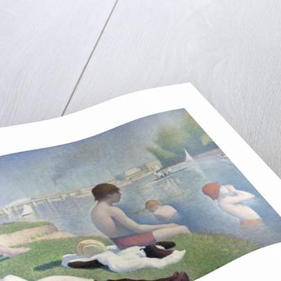 Bathers at Asnières (Baigneurs a Asnières) by George Pierre Seurat