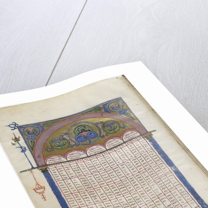 Illuminated manuscript of the Georgian-language Gospels, Between 1201 and 1300 by Anonymous master