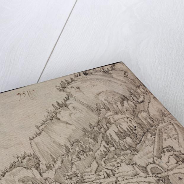 Sarmingstein on the Danube, 1511 by Albrecht Altdorfer