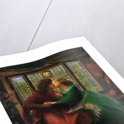 Paolo and Francesca da Rimini by Dante Gabriel Rossetti