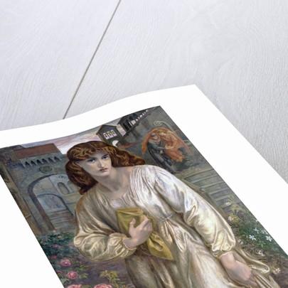 Salutation of Beatrice by Dante Gabriel Rossetti