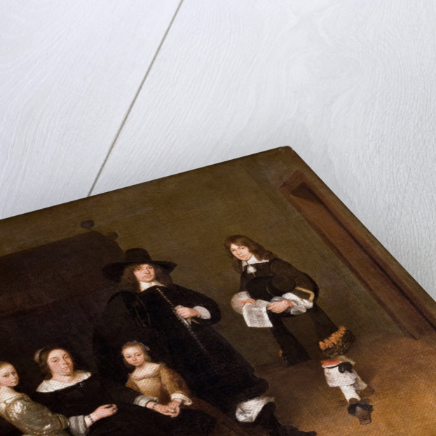 Portrait of a Family, 1656 by Gerard Ter Borch the Younger