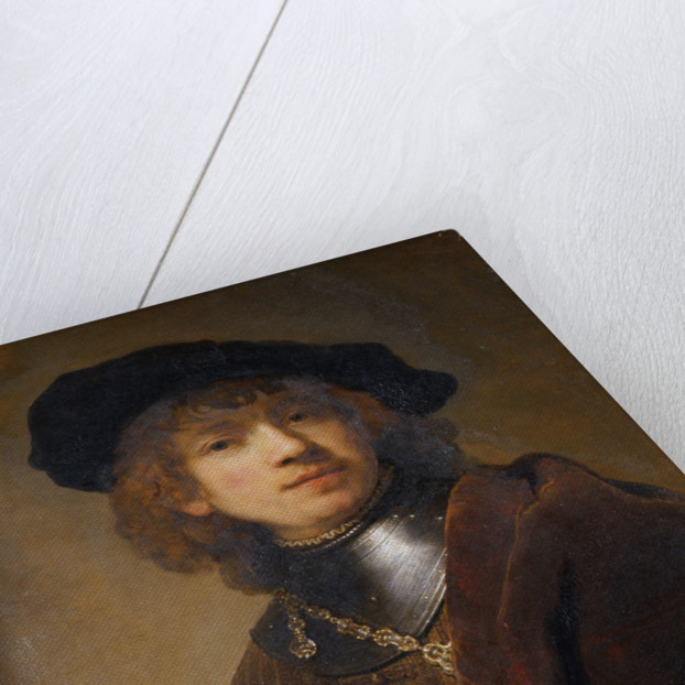 Portrait of a Young Man by Rembrandt (Rembrandt van Rijn)