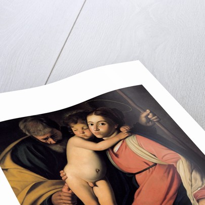 The Holy Family with John the Baptist as a Boy, Early 17th cen by Michelangelo Caravaggio