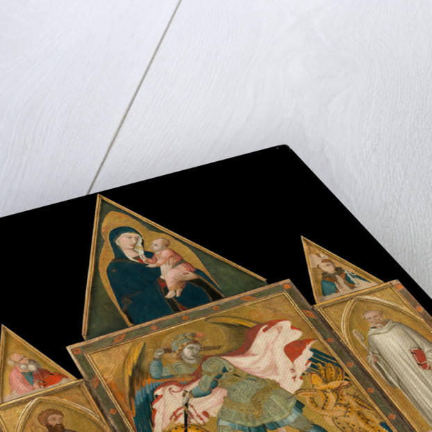 Rofeno Abbey Poliptych, 1330-1335 by Ambrogio Lorenzetti
