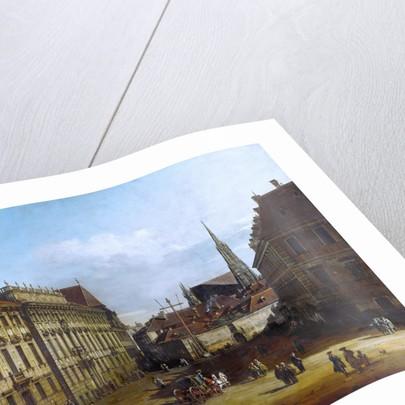 Vienna, the Lobkowitzplatz, Between 1758 and 1761 by Bernardo Bellotto