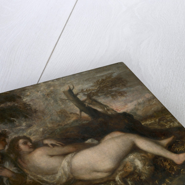 Nymph and Shepherd, 1570-1575 by Titian