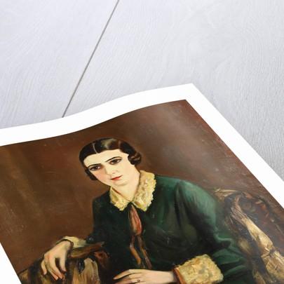 Portrait of Lilya Brik, 1921 by Alexander Silins