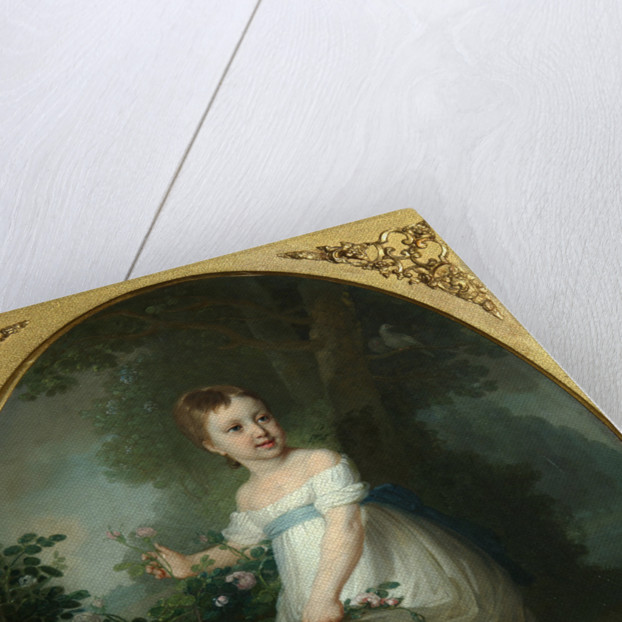 Portrait of Yelena Naryshkina as Child, Early 1790s by Vladimir Lukich Borovikovsky