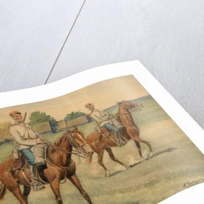 Cossacks by Konstantin Nikolayevich Chichagov