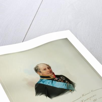Portrait of Alexei Zakharovich Khitrovo by Vladimir Ivanovich Hau