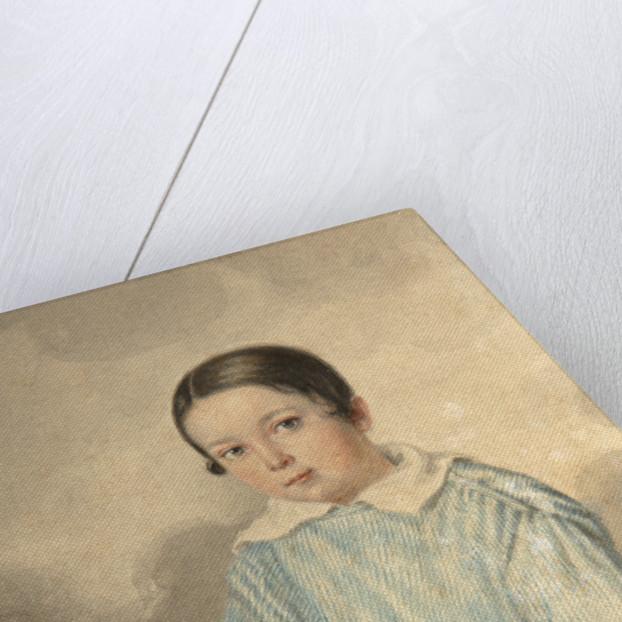 Portrait of N.M. Schwarz, 1839 by Andrei Joseph Hintz
